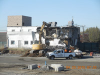 April 2016 - Demolition of 60 Kellogg Street building