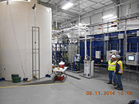 February 2014 - New groundwater treatment plant