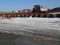 February 2015 - Grading on Kellogg St. properties