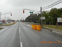 June 2015 - Installing traffic controls along Route 440