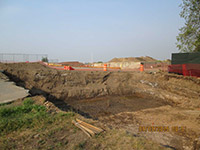 September 2015 - Excavation on former Jersey City properties